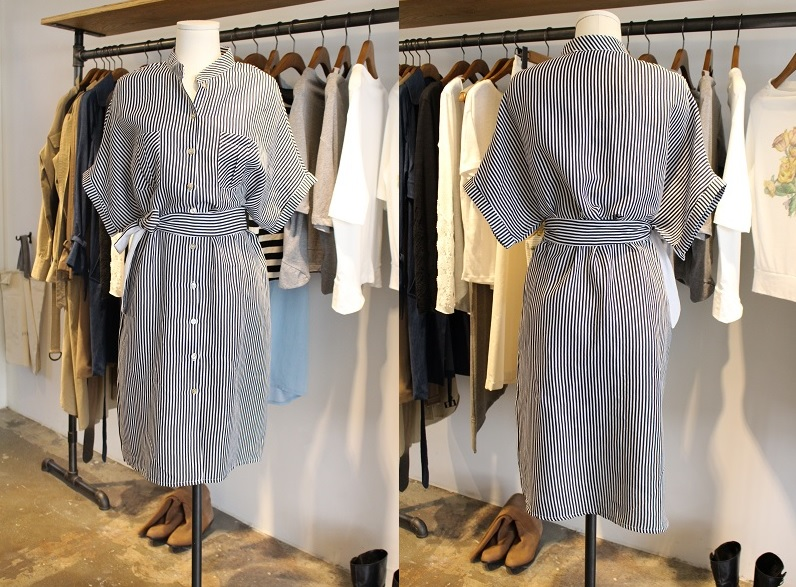 DREAM BUTTON DRESS