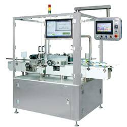 Pharmaceutical Round Container Labeling Machine