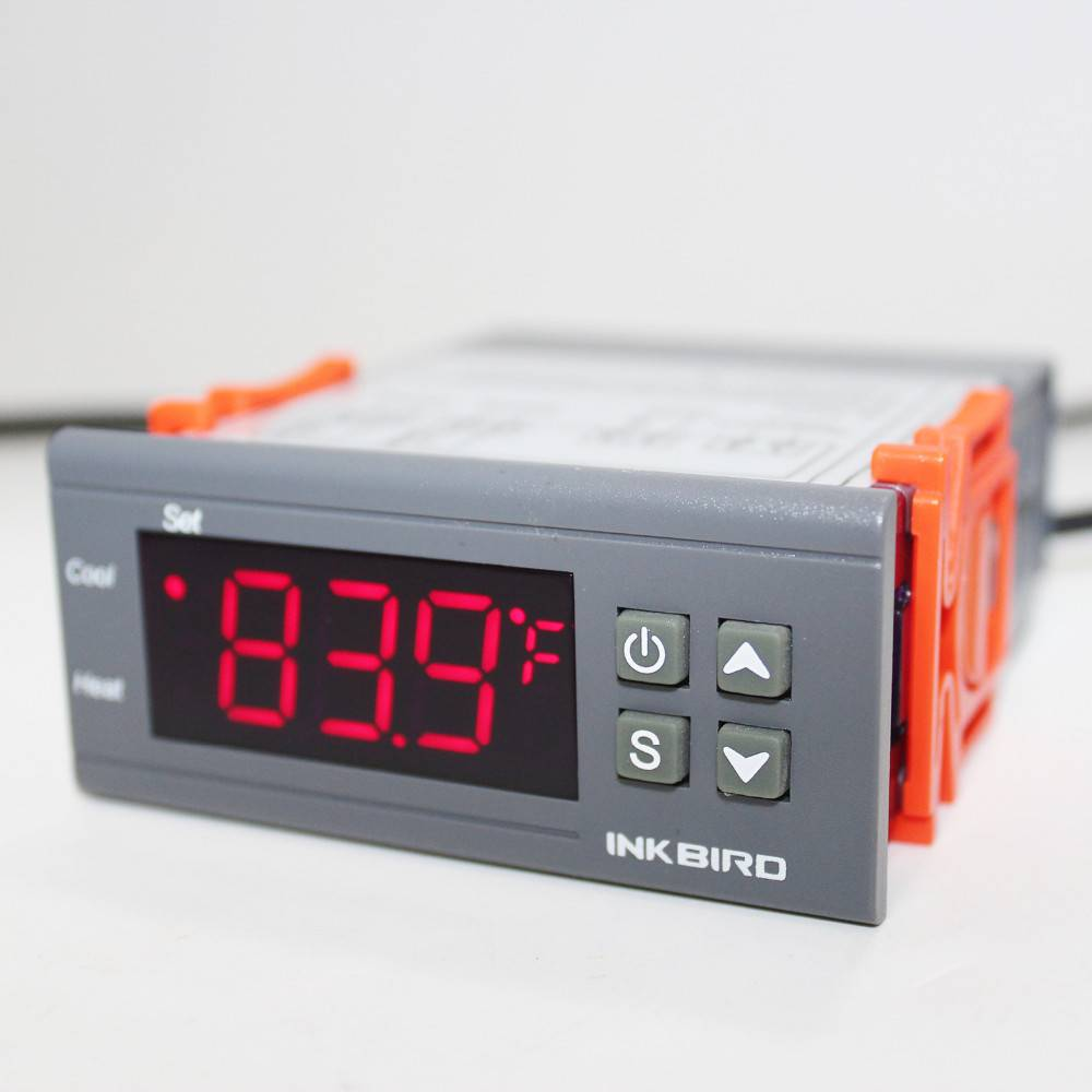 Inkbird 220V All-Purpose Temperature Controller+ Sensor 2 Relay Output Thermostat ITC-1000