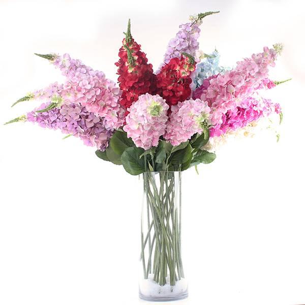 artificial silk flowers foxtail shape