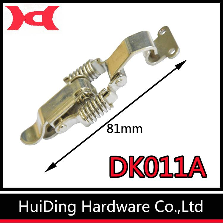 huiding DK011A metal toggle latch two springs catch hasp for box (can be customed)