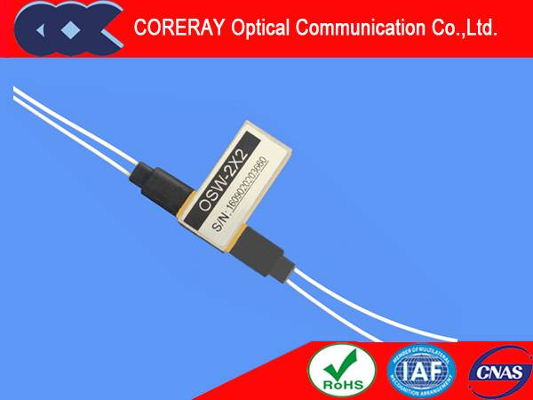 2X2 single mode fibre High Quality FTTH Optical Switch