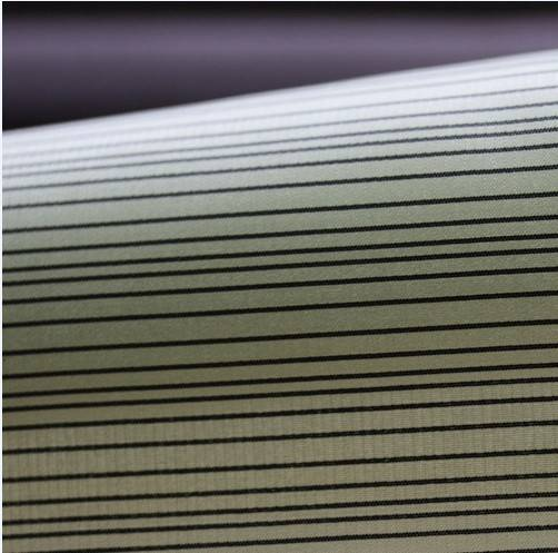 20D polyester nylon mixed fabric/irregular stripe