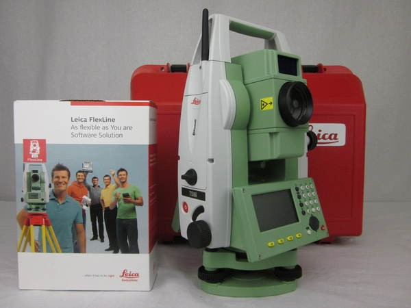 """Used Leica TS06ultra 2"""" R1000 Total Station With Bluetooth"""