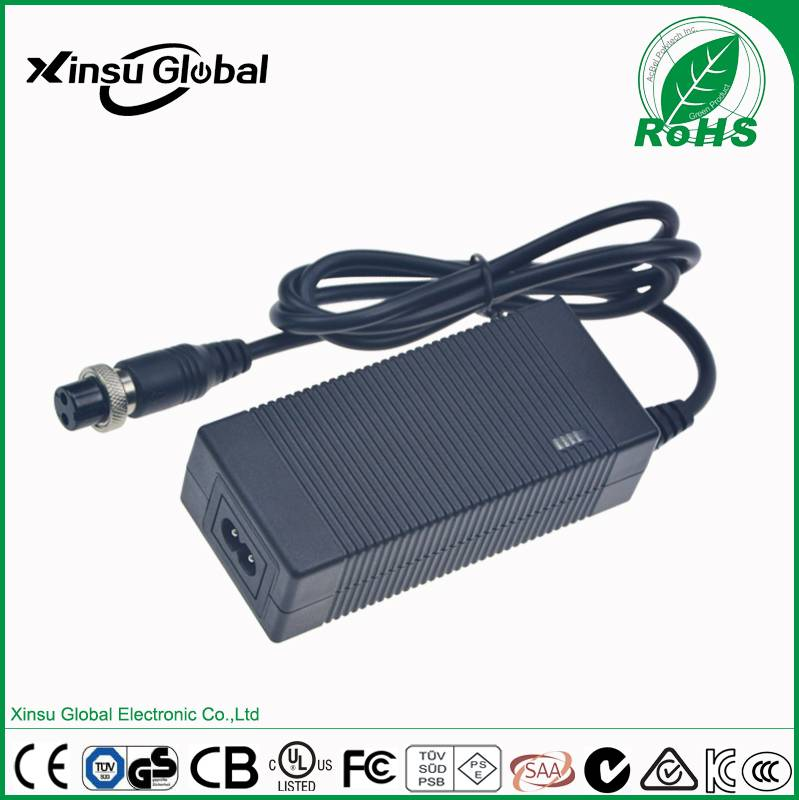42V1.5A lithium battery charger for balance car, swing car