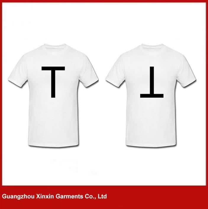 Design your own t-shrt white cheap blank plain custom unisex t shirt