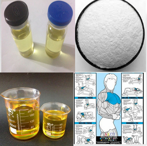 Injectable Semi-Finished Steroids Oil Ripex 225mg/Ml for Bodybuiling