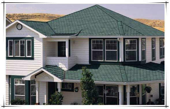 2016 cheap construct roofing material coloured glaze asphalt roofing sheet made in China
