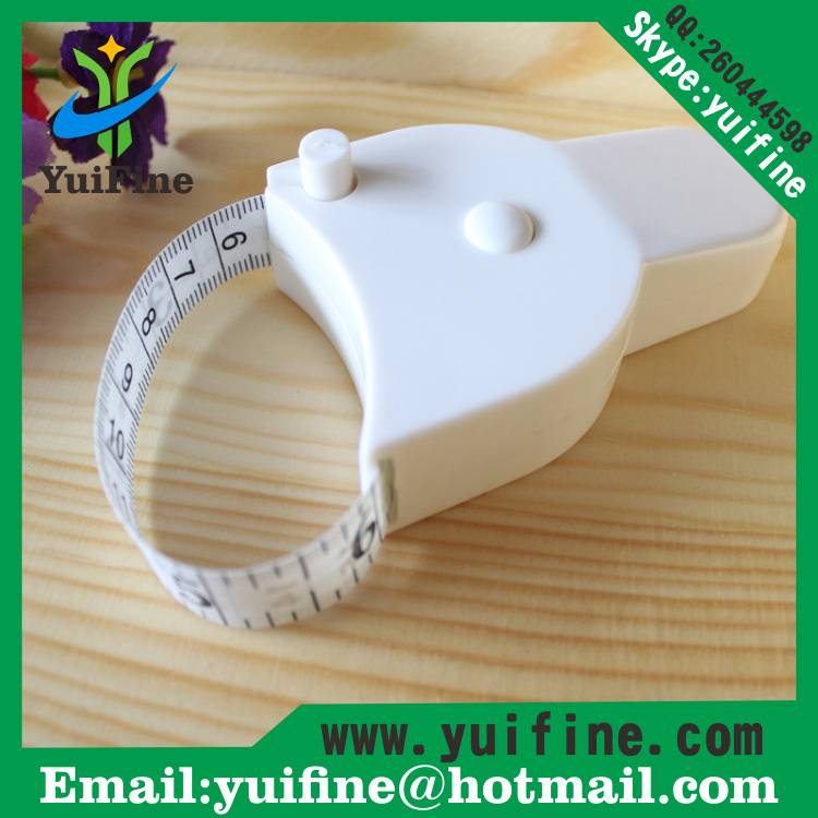 1.5m/60in Body Waist Measuring Tape /Y Shape Tape Measure Fitting Club Gifts Torch Shaped meters
