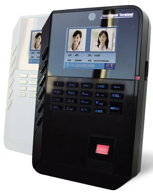 Fingerprint time attendance machine with access control