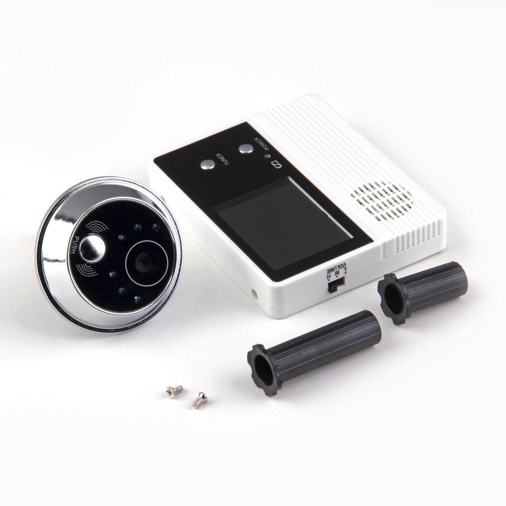 """takeing photo memory TF card 3.2"""" color LCD door viewer good night vision door peephole smart door b"""