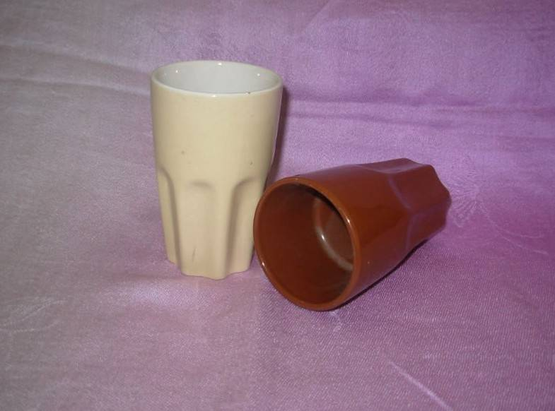 Stoneware Ice Cream Mugs, Customized Logos and Colors are Welcome