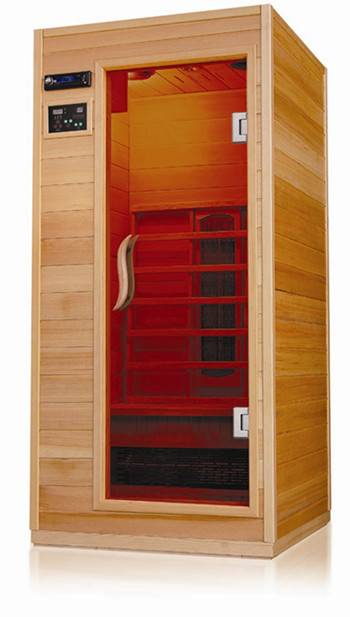 Solid wood Far Infrared Sauna room Ceramic Heater