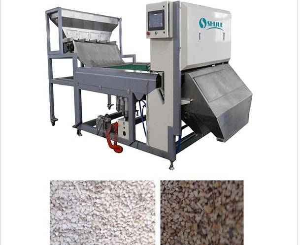 High frequency and single valve Color Sorter Machine for Quartz