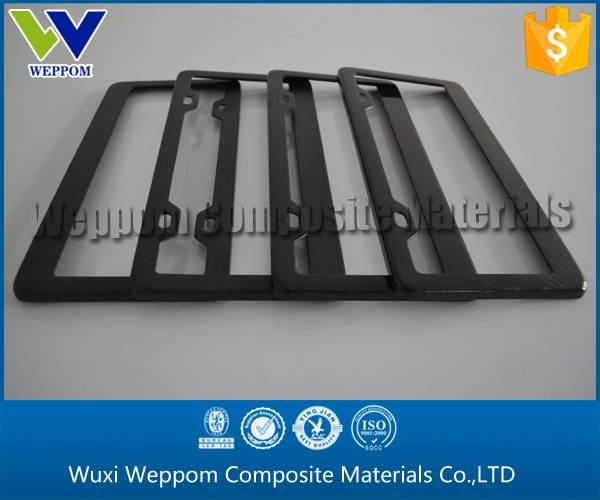 Cheapest Carbon Fiber License Plate/License Frame