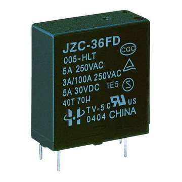 SUBMINIATURE  POWER  RELAY (JZC-36FD)