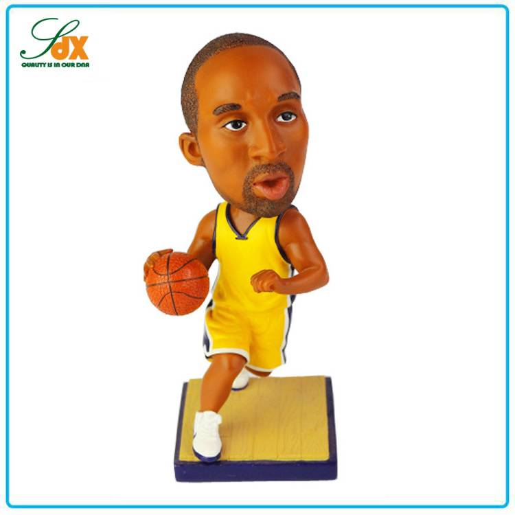 Wholesale Price Fashion Basketball Player Bobble Head
