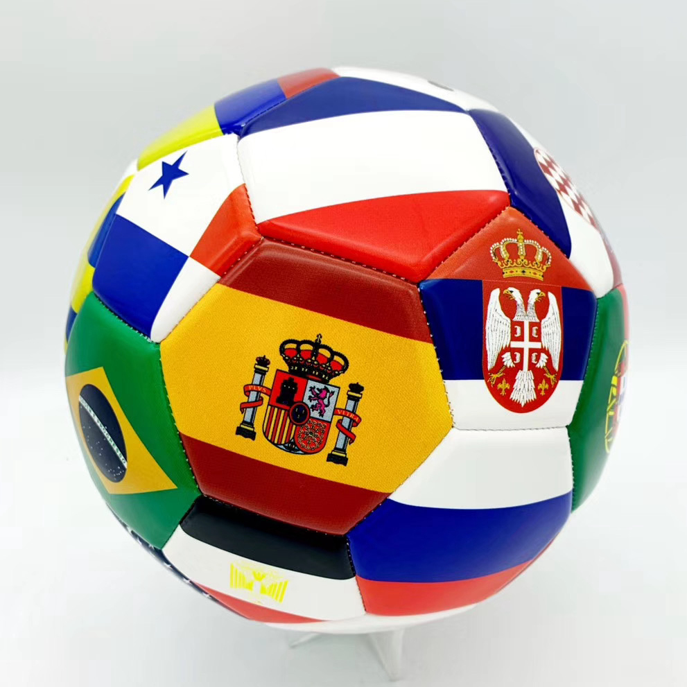 High quality training ball with size 5 PU leather