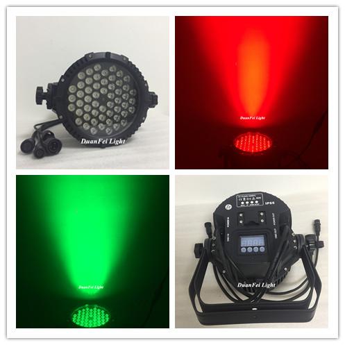 waterproof led par can ip65 3in1 rgb par led 54x3w