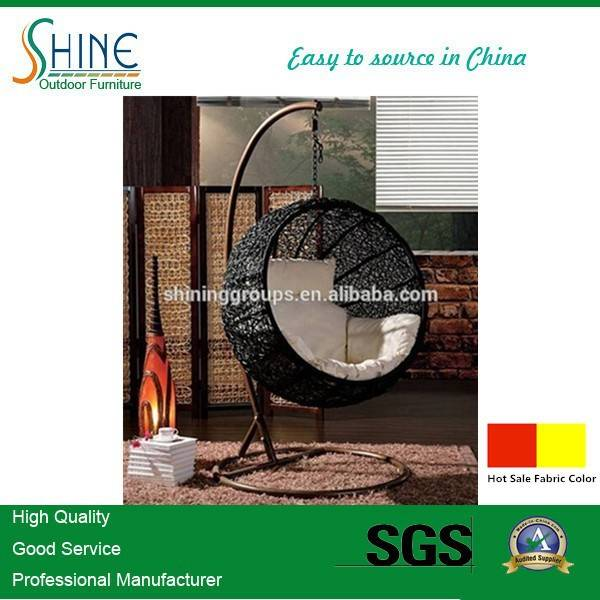 Hot Sale EGG rattan swing chair for Garden C776