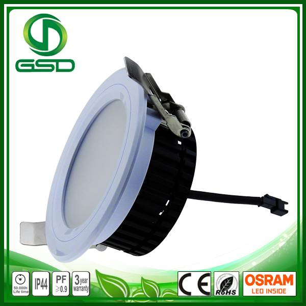 95mm cutting Size led downlight with white fixture