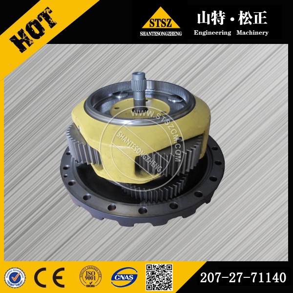 Komatsu excavator part PC300-7 gear pump 207-27-71121 with stock available