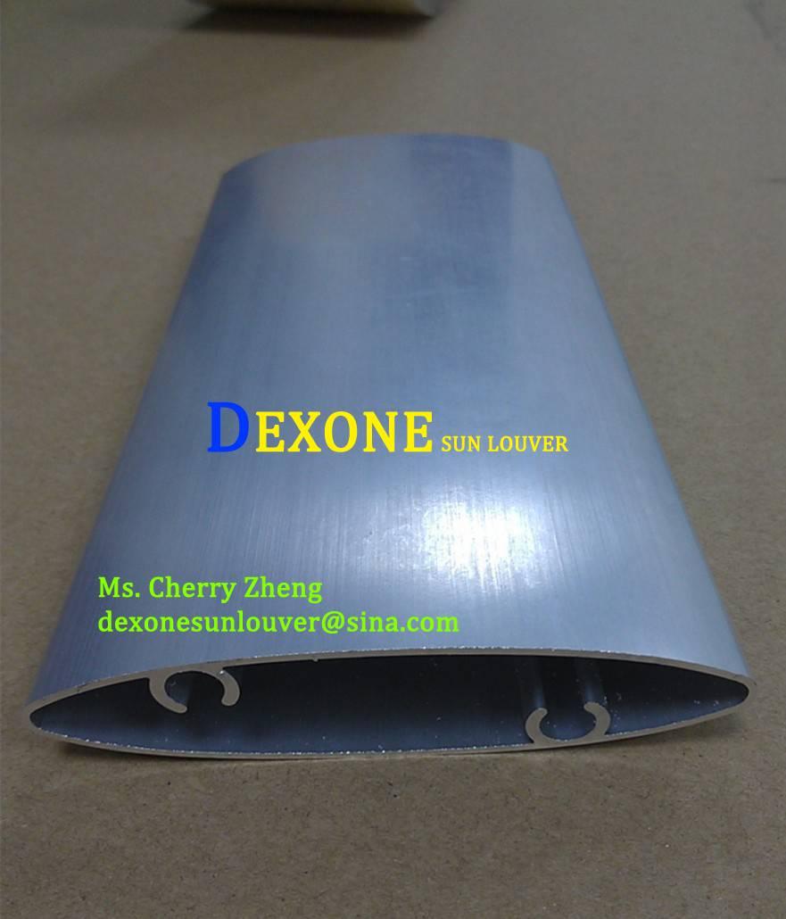Airfoil aluminum louver/ solar shading/sun louver