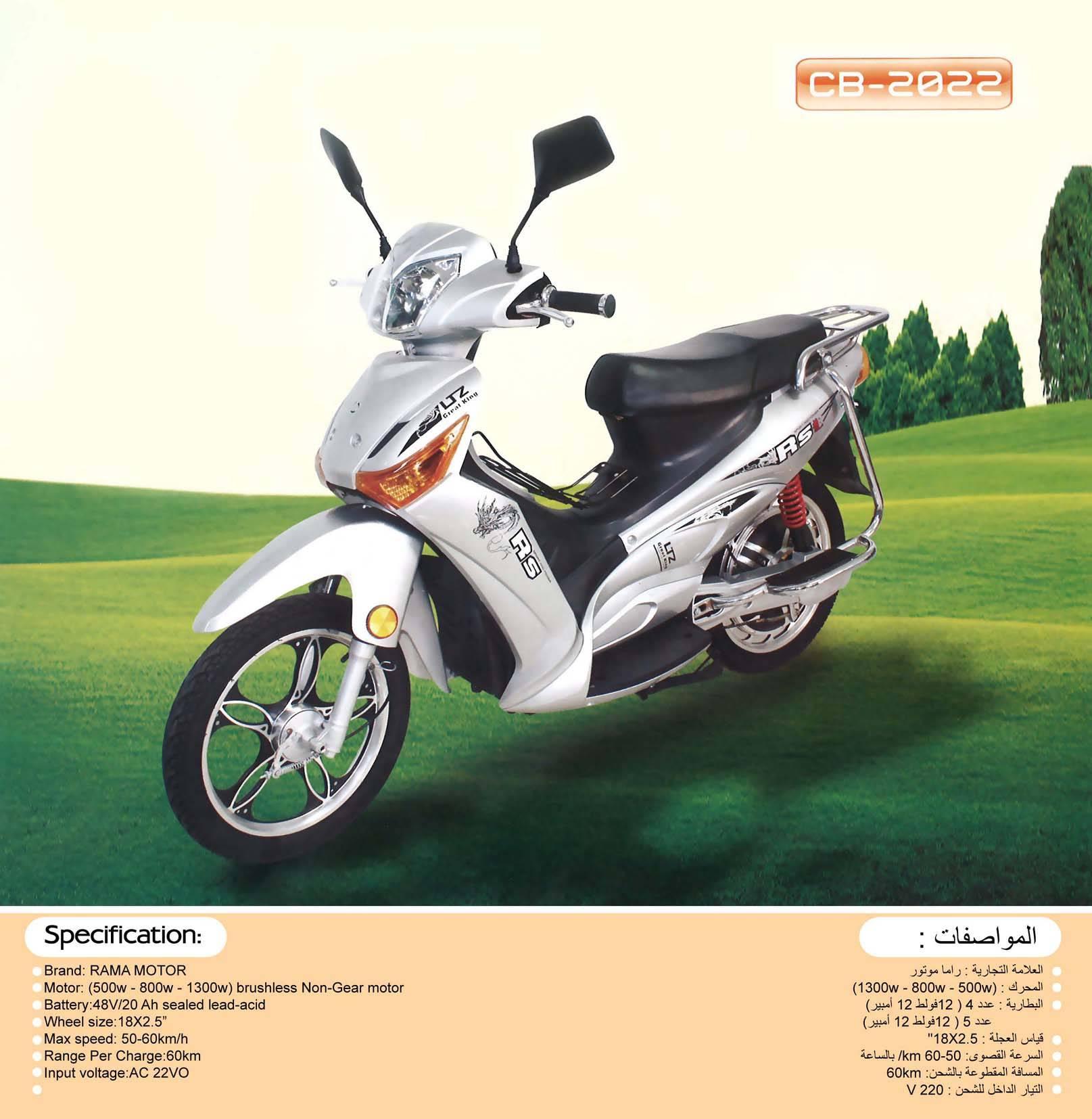 500  Watt , 60 V Electric Motor