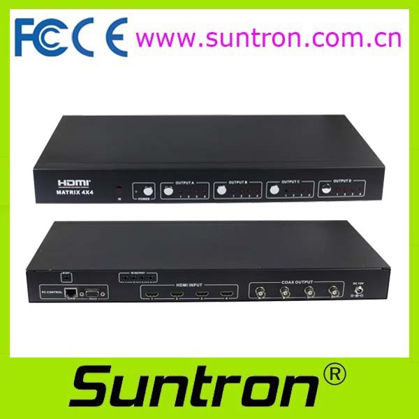 Suntron HD44C100 HDMI Switcher (with SDI coaxial extension output)