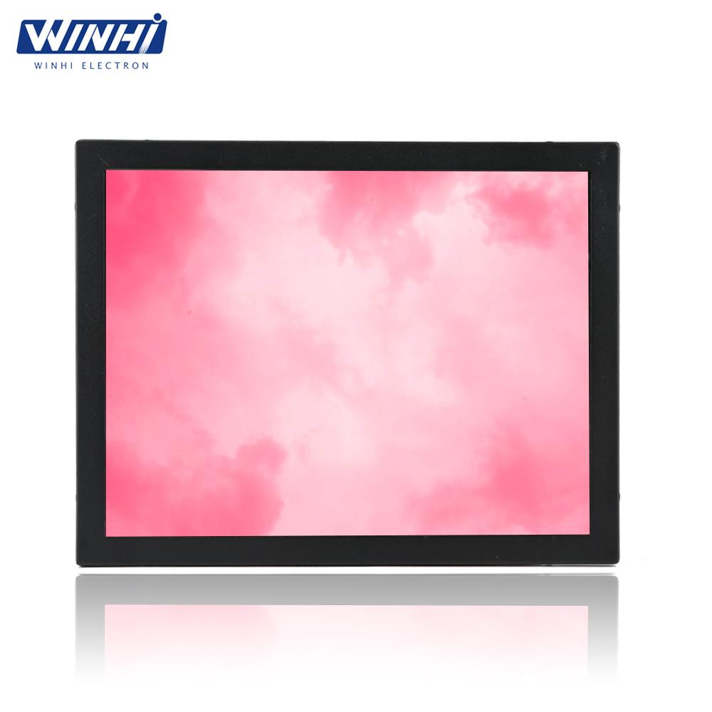 "HD multimedia interface dvi input 4:3 display lcd digital display mini monitor 12.1"" lcd monitor vga"