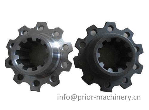 High precision spline parts