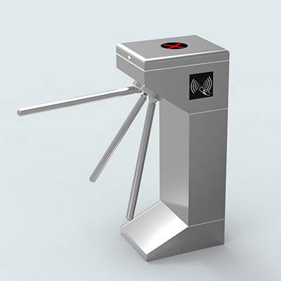 upright single core tripod turnstile barrier gate