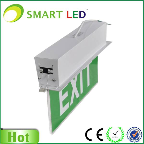 ceiling mounted 3W Emergency Exit Sign