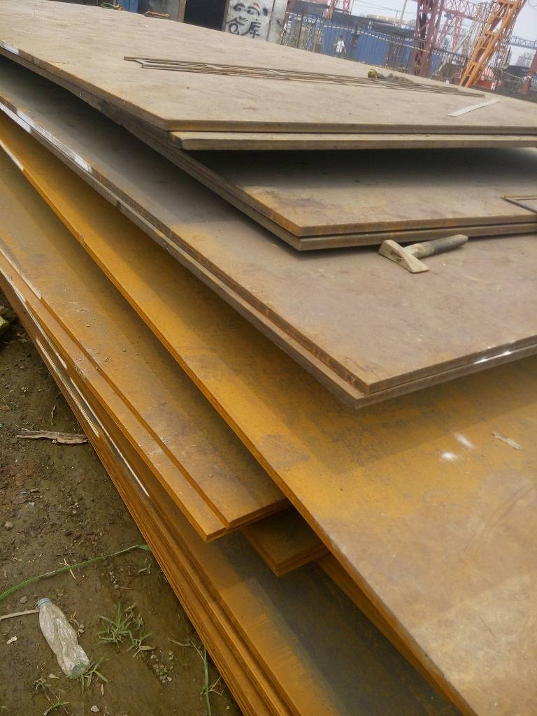 Corten B steel sheet in stock