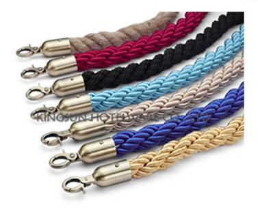 Braided Rope With Snap Ends