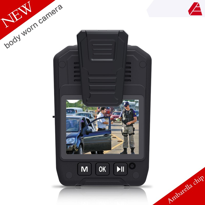 1080p High-quality support wifi infrared technology police body worn camera