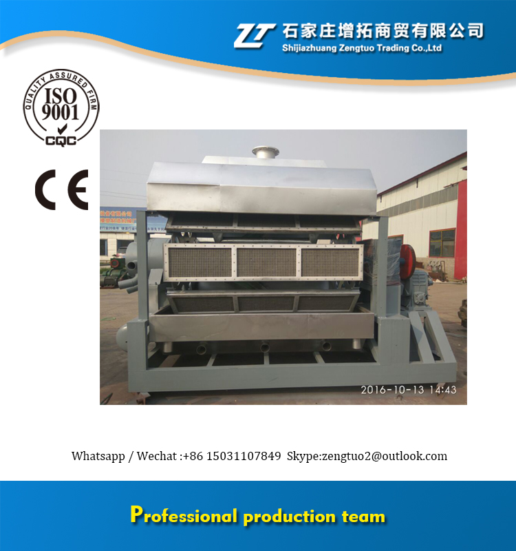 Professional recycled waste paper pulp machine make seed raising tray