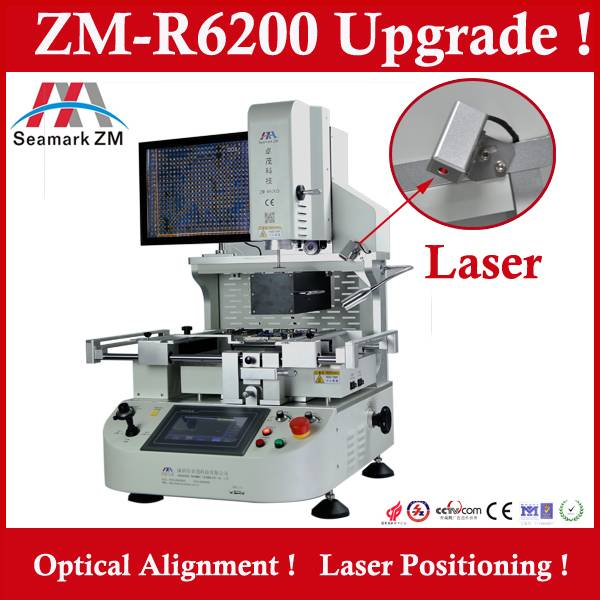 ZM-R6200 automatic ccd bga rework station
