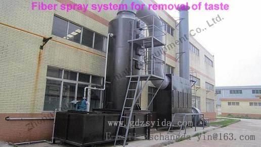 Bathroom Equipment/Bathtub Machine/Fiber spray system for removal of taste