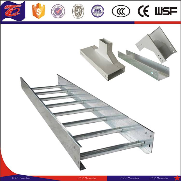 Aluminum/Galvanized Cable Tray Ladder Tray