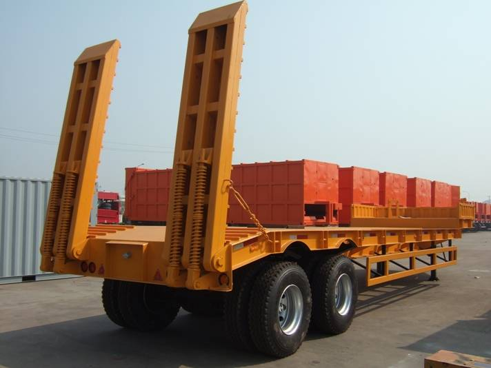 low bed trailers