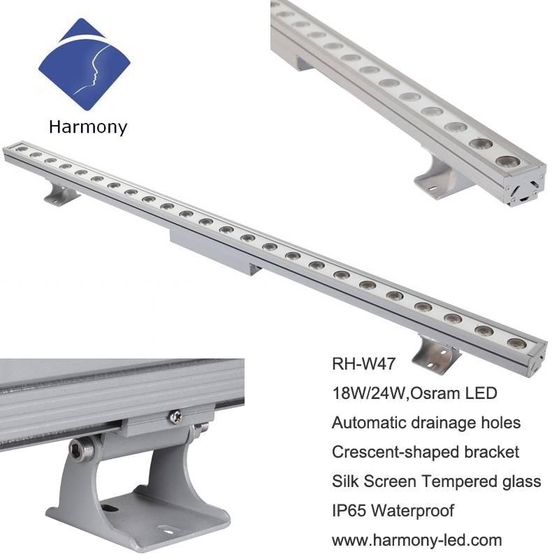AC220V Stable 18watt Outdoor LED Bar Lighting DMX