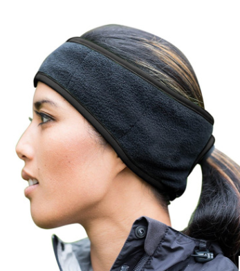 Fleece Headband with back hole