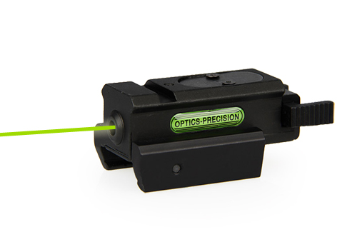 green weapon laser sight with 20mm mounting system /pistol laser pointe