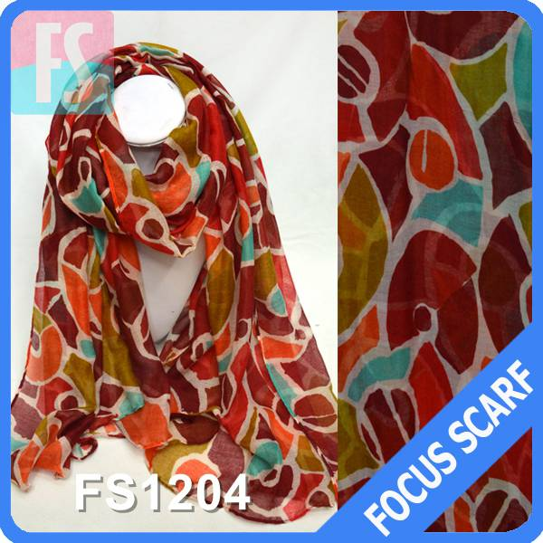 2014 newest printted fashion sacrf