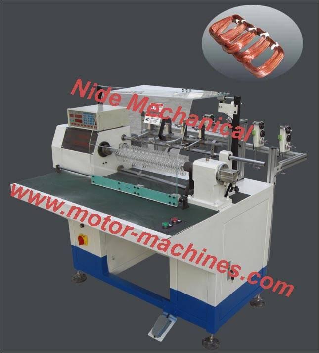 Multi-tap wire array automatic winding machine