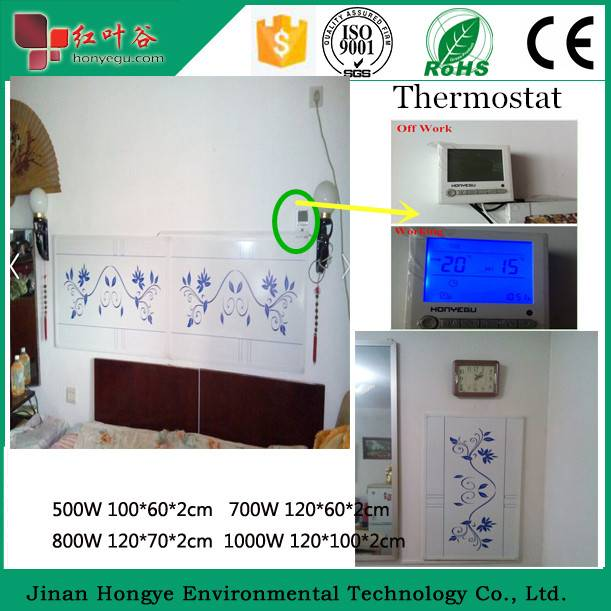 2015 Newest infrared heating panel with CE offered infrared electric room heater