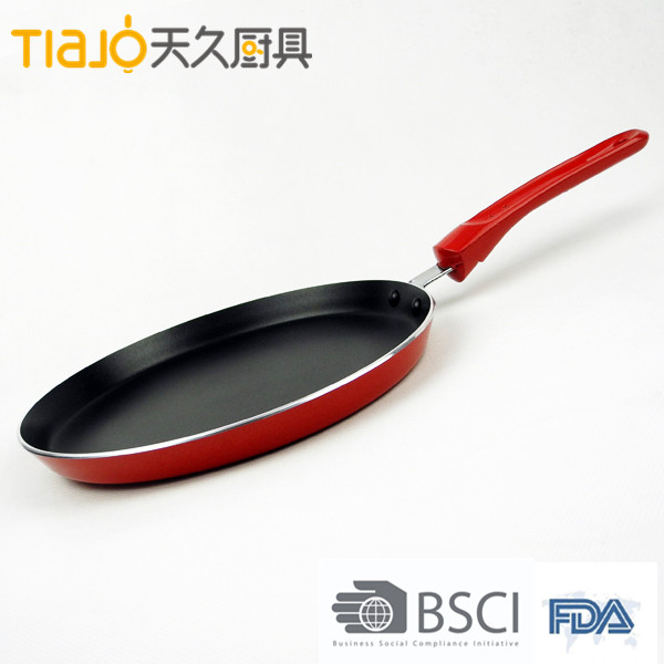 Pressed Aluminum Non Stick Coating Italy frypan for safe cooking & energy saving