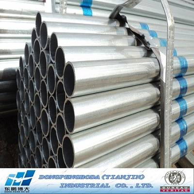 TOP 50 Steel Manufacture Q195-Q235 Pre Galvanized ConstrctionSteel Pipes
