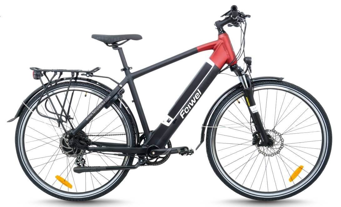 Mid-drive motor city electric bike (FR-TDB08Z)